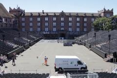 Kasernenplatz, Basel - Sanierung
